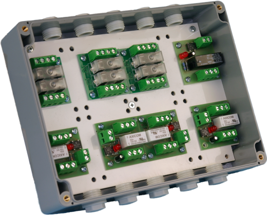 Montagegehäuse für 8 Module IP65