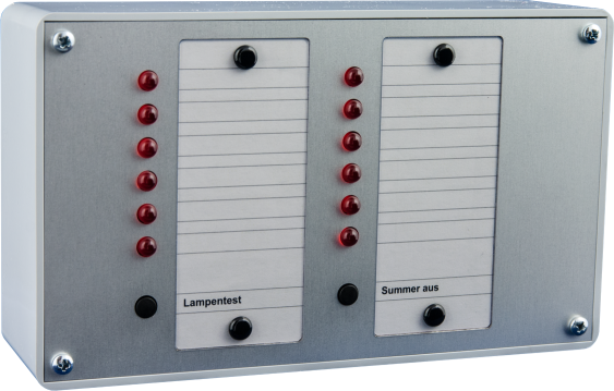 Parallelanzeigetableau PT 12 a.P. 12V/DC+ gesteuert
