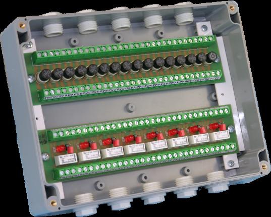 Montagegehäuse für zwei 180 mm Module IP65