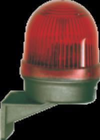 Mini-Blitzleuchte W-Blitz, 24V-DC, 20-40 mA Stromaufnahme
