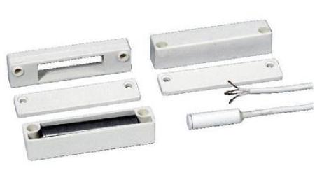 Reedkontakt, schwere Ausführung, Stahl- Feuerschutztüre