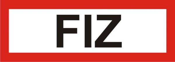 "Aufkleber UV Digitaldruck ""FIZ"""