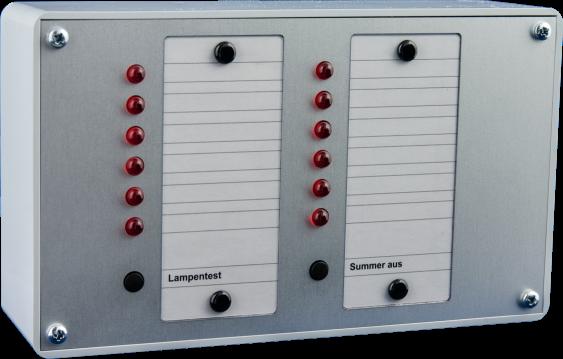 Parallelanzeigetableau PT 12 a.P. 24V/DC+ gesteuert