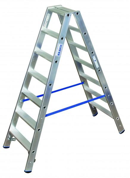 Stufen Doppelleiter 2x7 Sprossen