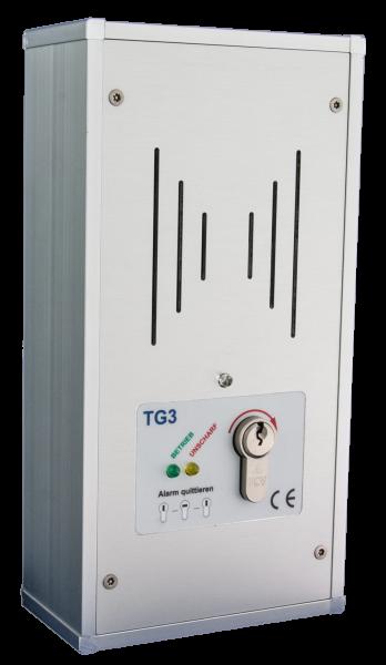 Tagalarmgerät TG3/P A2 - 12V/DC - AP