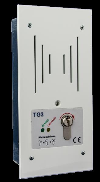 Tagalarmgerät TG3/P - 12V/DC - u.P. - ballwurfsicher