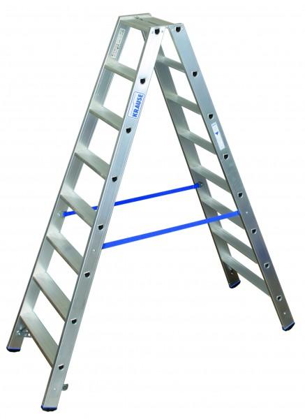 Stufen Doppelleiter 2x8 Sprossen