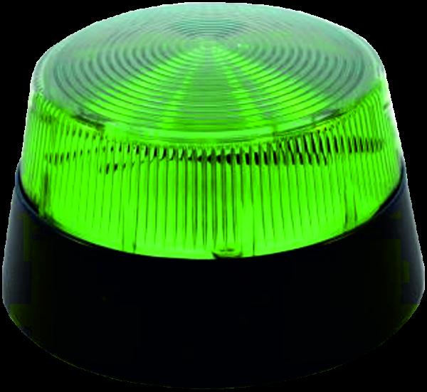 Blitzleuchte für EdelstahlSäule K1-K8 grün