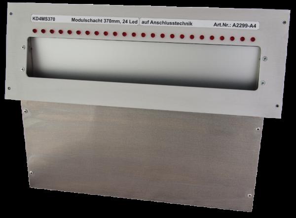 Laufkartenschacht KD4 A4 370mm, Sub-D25 + gesteuert