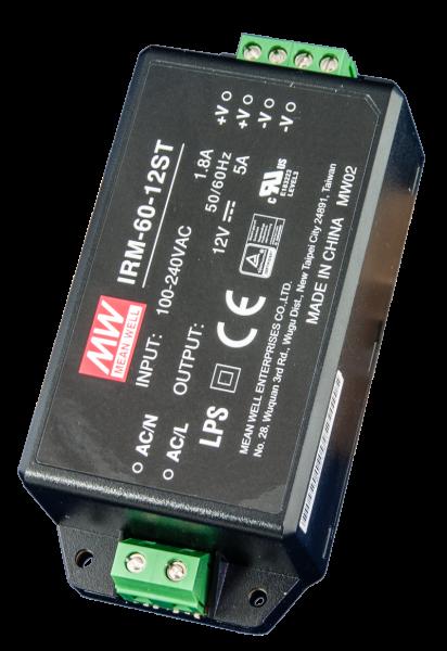 Netzgerät 12 Volt DC 5,0 A (voll gekapselt Isoliergehäuse)