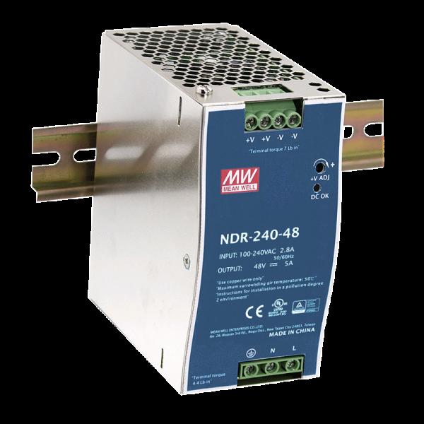 Netzgerät DIN-Schiene 24V/10A DC
