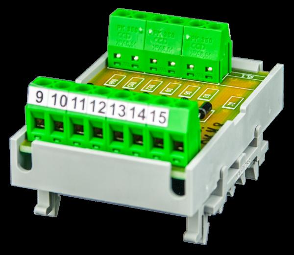 Lampentestmodul P1 - Ausführung 42V DC + gesteuert