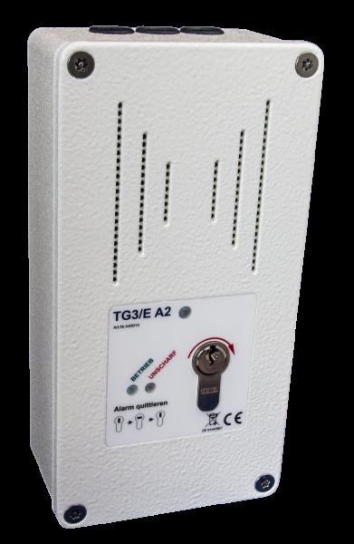 Tagalarmgerät TG3/E -230V - a.P. - RAL 9010