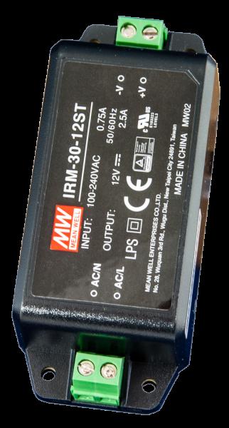 Netzgerät 12 Volt DC 2,5 A (voll gekapselt Isoliergehäuse)