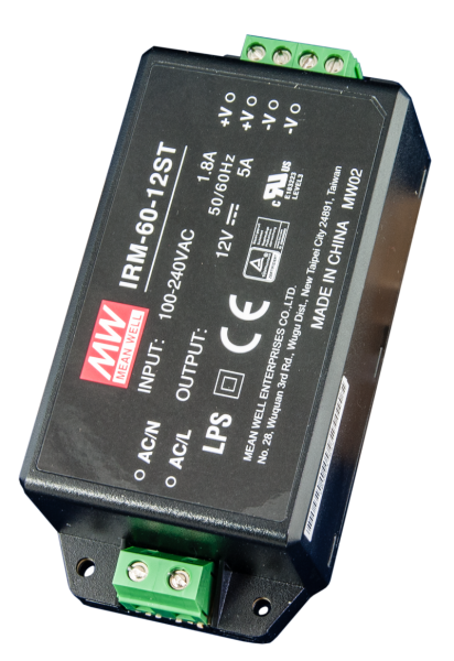 Netzgerät 24 Volt DC 2,5 A (voll gekapselt Isoliergehäuse)