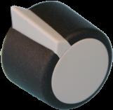 Drehknopf Ausführung in Kunststoff, 23 mm