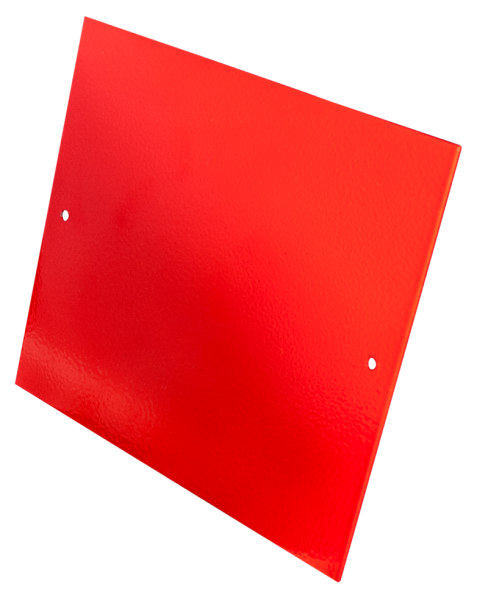 Blindplatte RAL3000 Geräteeinbauplatz KD7 Ersatzteil