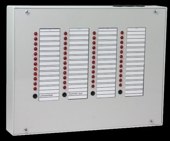 Parallelanzeigetableau PT 48S 12V/DC+ gesteuert