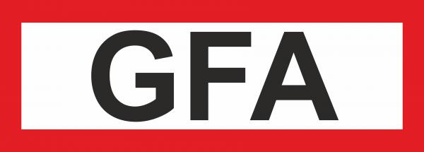 "Aufkleber UV Digitaldruck ""GFA"""