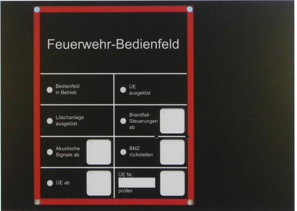 Frontplatte FBF Deutsch