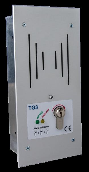 Tagalarmgerät TG3/P - 12V/DC - u.P.