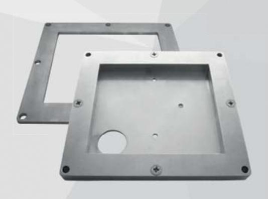 Tiefenflansch für FSD basic, 4mm