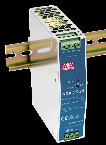Netzgerät DIN-Schiene 24V/3,2A