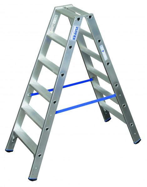 Stufen Doppelleiter 2x6 Sprossen