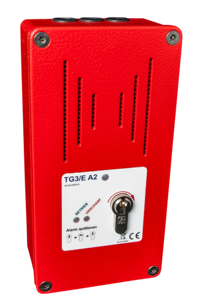 Tagalarmgerät TG3/E - 230V - a.P. - RAL 3000